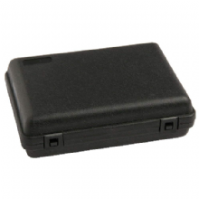 HARD PLASTIC PISTOL GUN CASE - SMALL